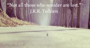 Not all those who wander al lost